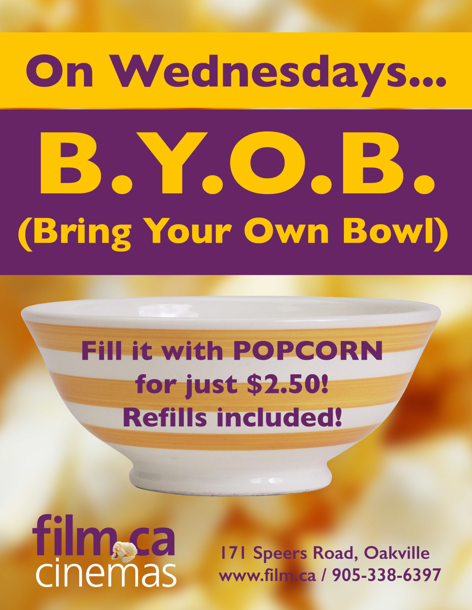 bring your own bowl